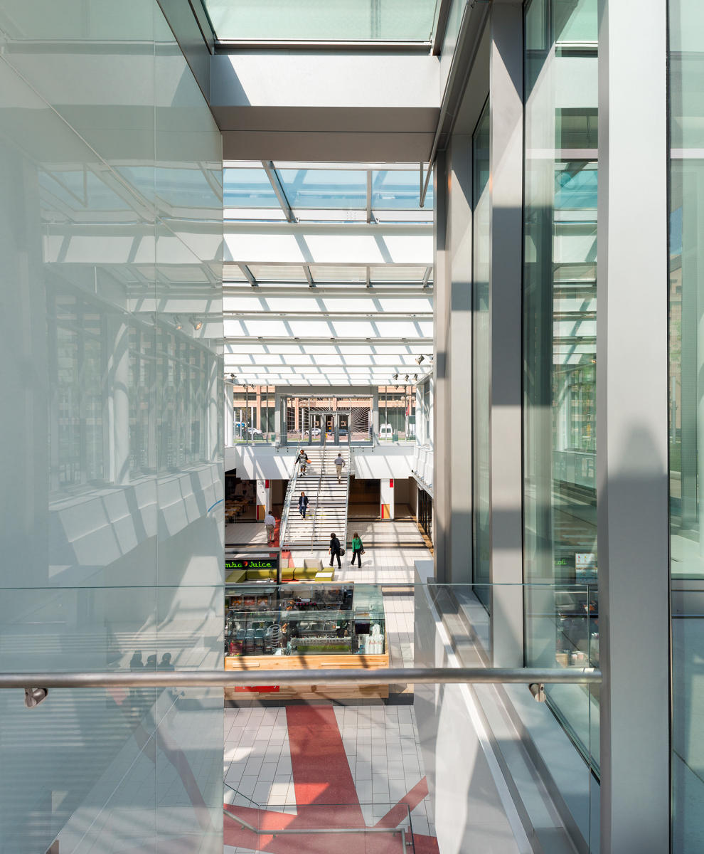 Architect: SmithGroup   |   Project: L'Enfant Plaza Retail - West