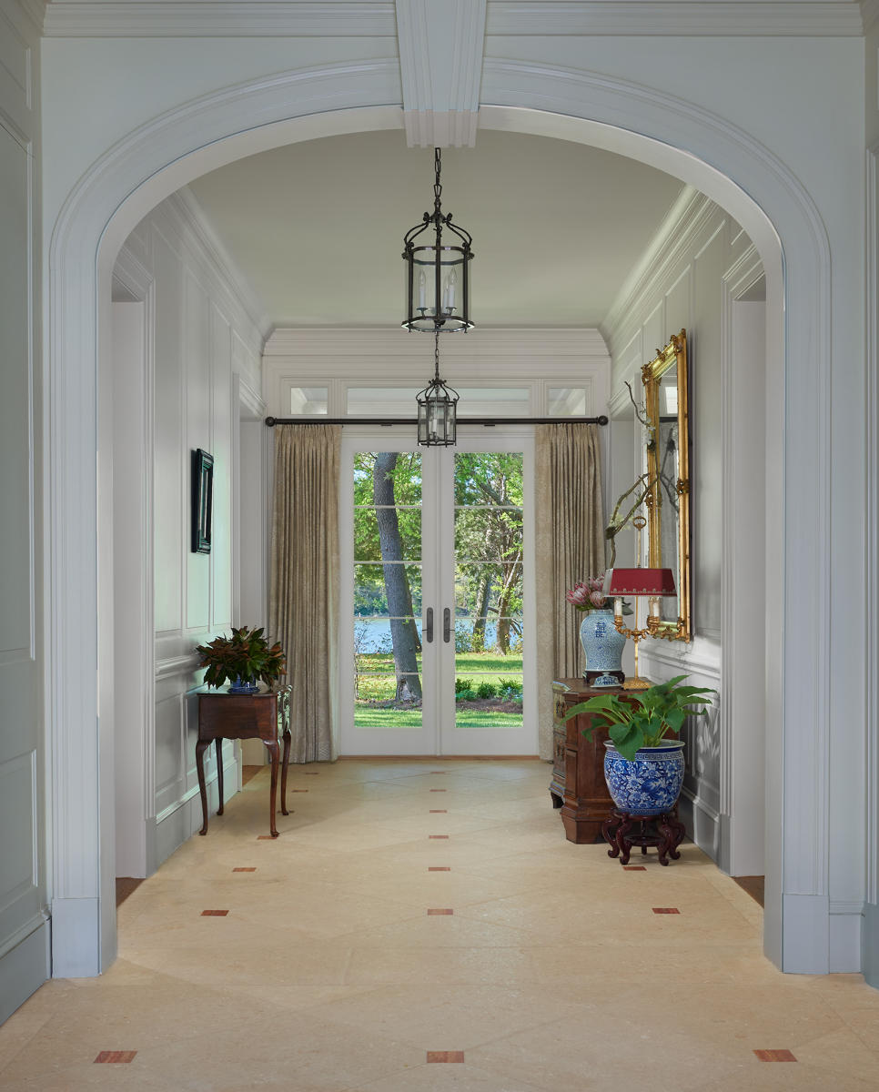 Architect: Barnes Vanze   |   Project: Virginia Tidewater Estate