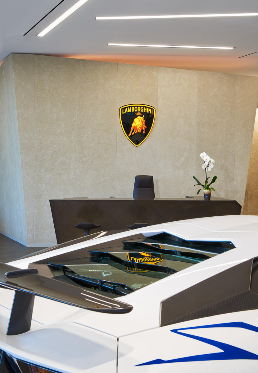 Architect: VA-Spaces   |   Project: Lamborghini