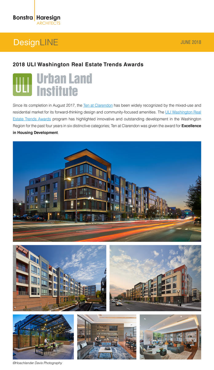 Bonstra|Haresign Urban Land Institute Awards