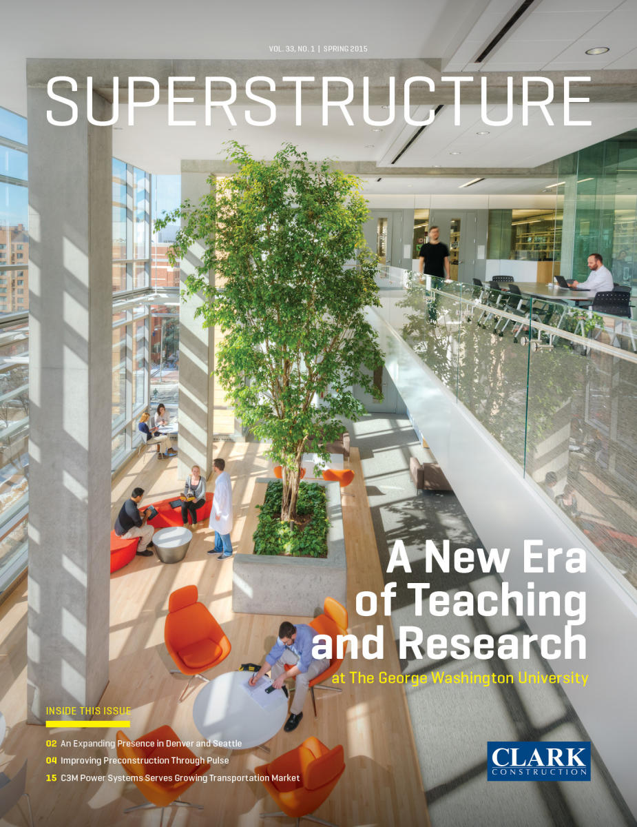 Superstructure Cover Image for Quarterly Brochure | Clark Construction Group, LLC