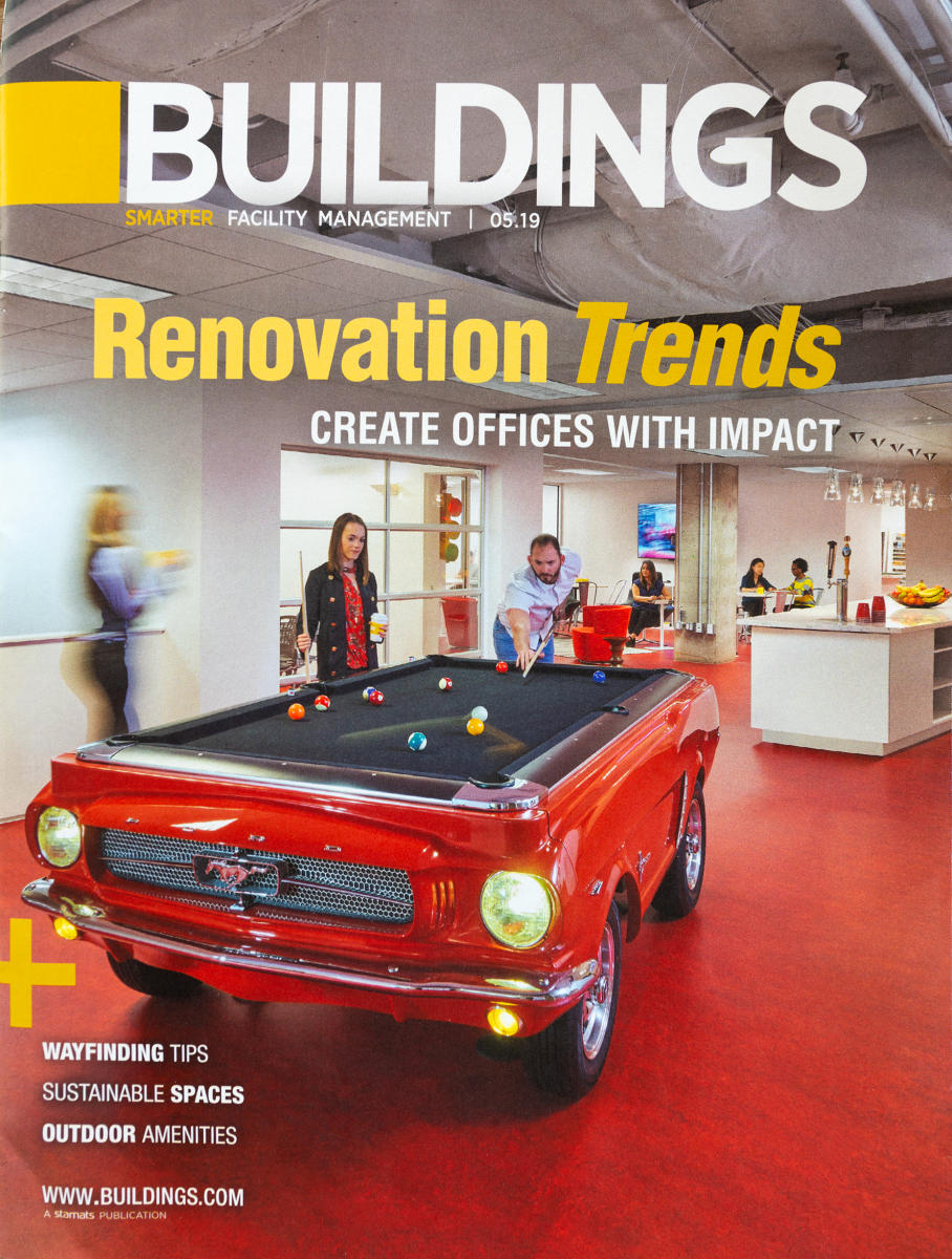 Buildings Magazine Cover Story for Cooper Carry Architects