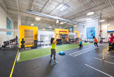 Client: MdN Architects  |  Project: Results Fitness