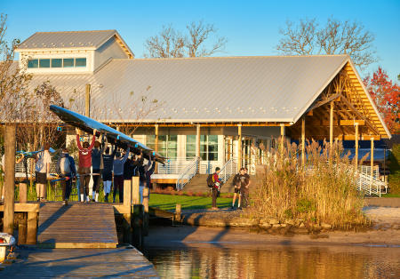 Architect: HGA   |   Project: Washington College Hodson Boathouse